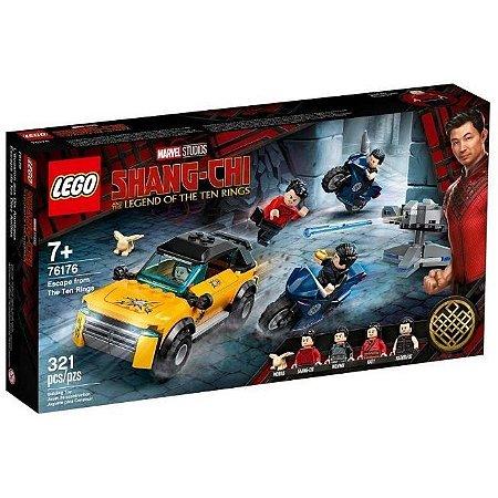 Lego Shang-Chi Fuga Dos Dez Anéis 321 Peças 76176