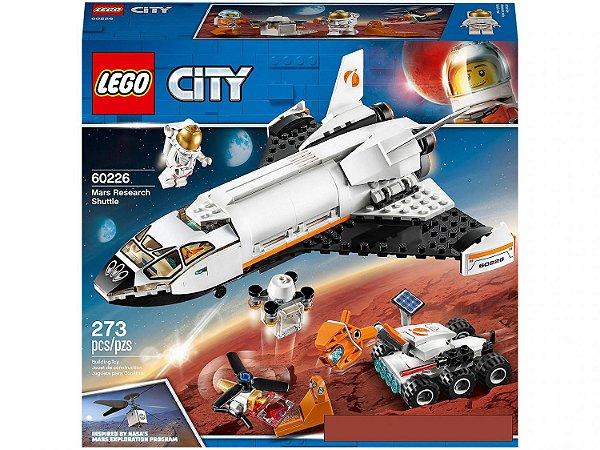 Lego City Ônibus Espacial de Pesquisa em Marte 273 Peças