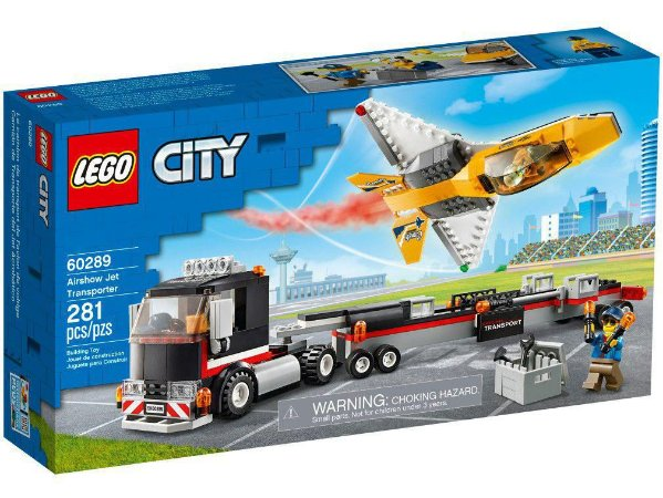 Lego City Transportador de Avião de Acrobacias 281 Peças