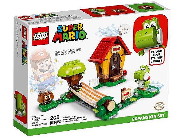 Lego Pacote de Expansão Casa de Mario/Yoshi 205 Peças 71367