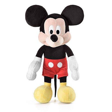 Pelucia Mickey Mouse Disney 35cm com Som Multikids