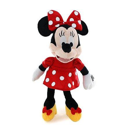 Boneco de Pelúcia Minnie Com Som 35cm BR333 Multilaser