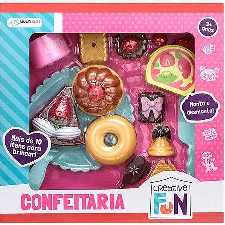 Conjunto Doces Confeitaria Infantil Criative Fun Multikids