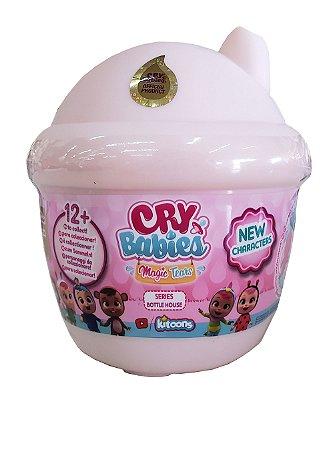 Mini Cry Babies Magic Tears Surpresa Series 1 e Bottle House