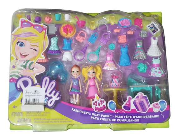 Conjunto Polly Pocket SORTIDO Ggj54 Mattel