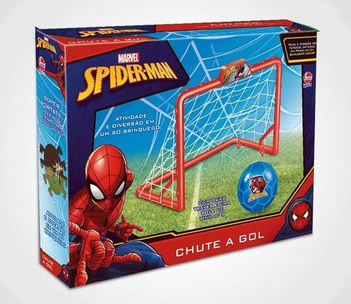 Trave Chute A Gol Spider-man Lìder Brinquedos