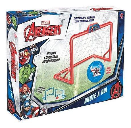 Jogo De Futebol Chute A Gol Marvel Avengers Lider 2148