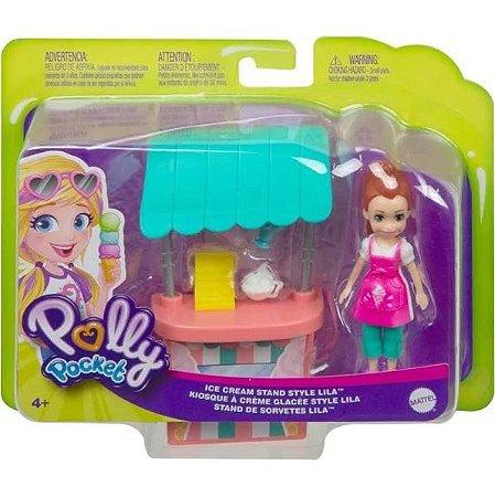 Boneca SORTIDA Polly Pocket 9cm Atividades De Verão Mattel