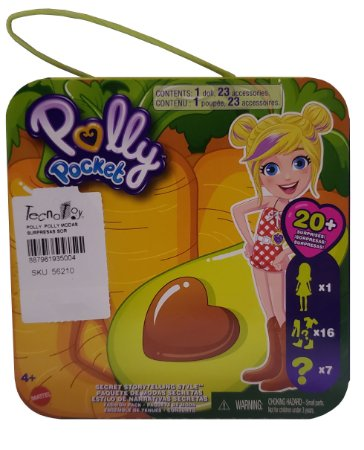 Boneca Polly Moda Roupas Surpresas e SORTIDAS Mattel GVY52