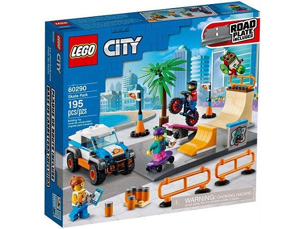 Blocos de Montar Lego City Parque de Skate 195 Peças 60290