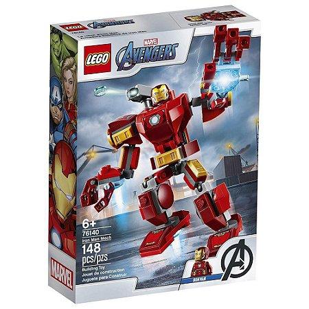 Blocos de Montar Lego Avengers Robô Homem de Ferro 148 Peças
