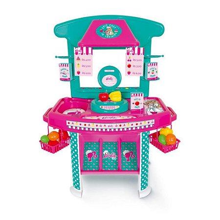 Mercadinho de Brinquedo da Barbie Chef Cotiplás