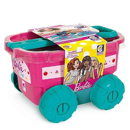 Kit Picnic Comidinhas e Acessórios Barbie Chef Cotiplas 2226