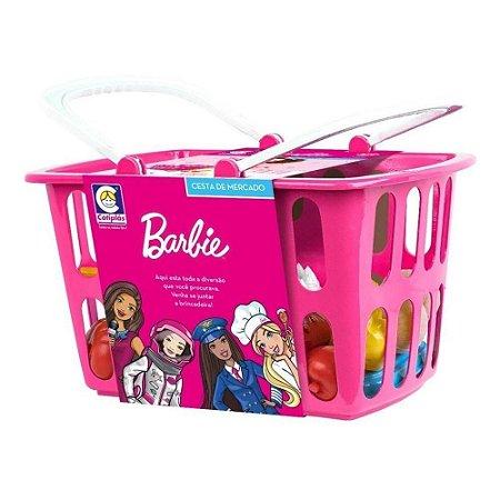 Cestinha de Mercado Barbie Chef Infantil Cotiplas