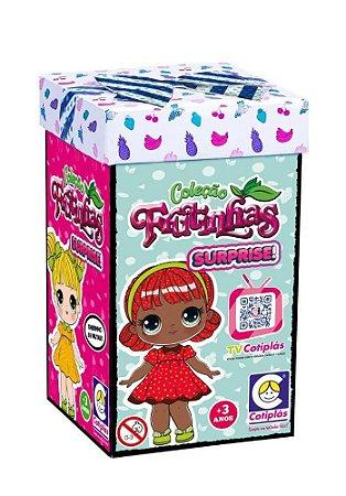 Coleção Bonecas Surpresas Frutinhas 1 Boneca Cotiplás 2505