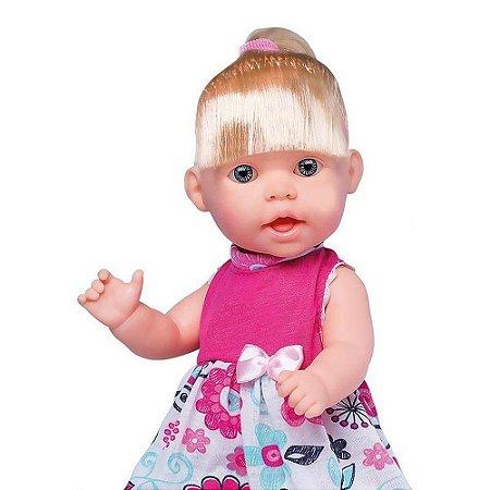Boneca Que Fala 60 Frases c/Som Nolly Infantil Super Toys