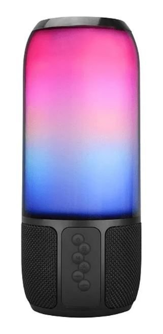 Caixa De Som Speaker Flash 15w Rms Led Rgb Multilaser Sp349