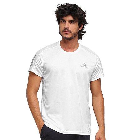 Camiseta Adidas Own The Run Prime Masculina Branco