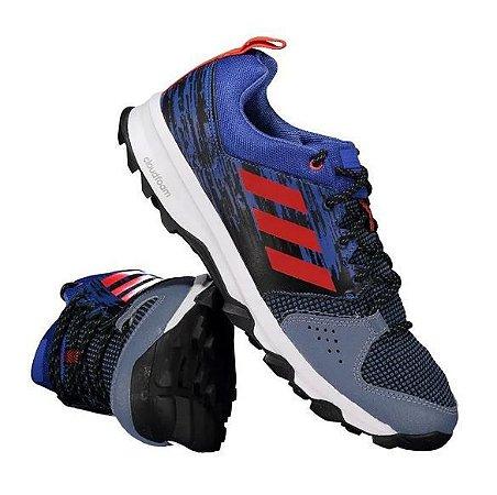 Tênis Adidas Galaxy Trail Azul Masculino Tam 39