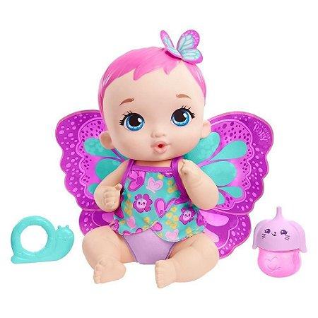 Boneca SORTIDA My Garden Baby Borboleta Faz Xixi Mattel