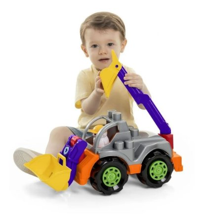 Brinquedo Rodadinhos Blocks Tractor - Sortidos
