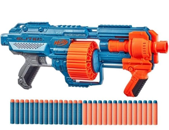 Nerf Lancador Shockwave Elite 2.0 Hasbro E9531