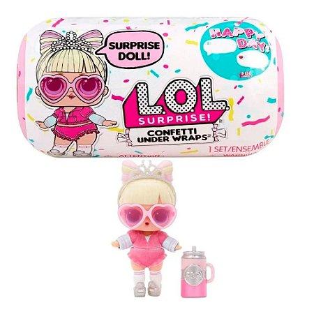 Boneca LOL Confetti Under Wraps de Aniversario - Candide