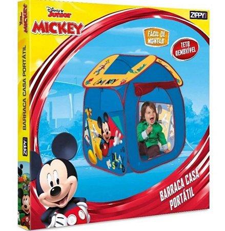 Barraca Infantil Portátil Casa Mickey Zippy Toys