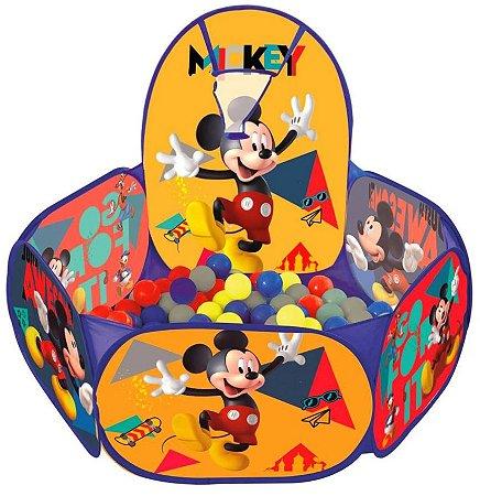 Piscina De Bolinhas Mickey Com Cesta De Basquete - Zipp