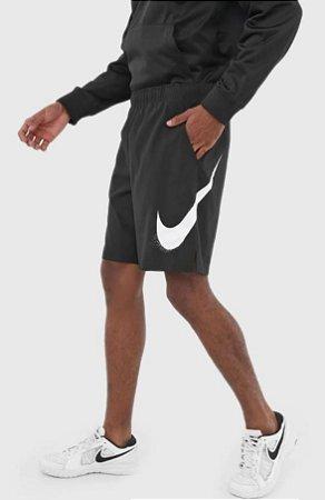 Bermuda Nike Flex Woven 3.0 Hbr Masculina Preta