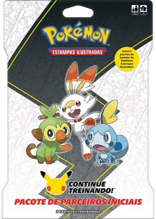 Carta Gigante Blister Card Pokémon 2 Booster Galar Copag