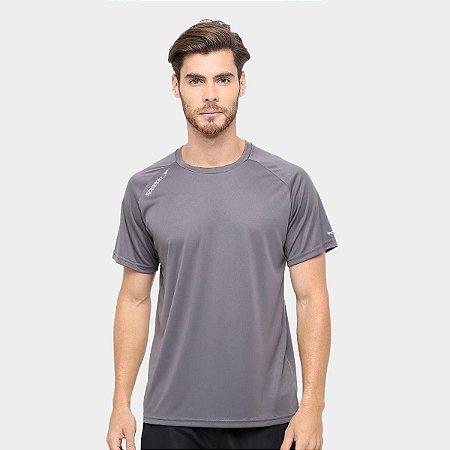 Camiseta Tshirt Masculina Speedo Raglan Basic Cinza