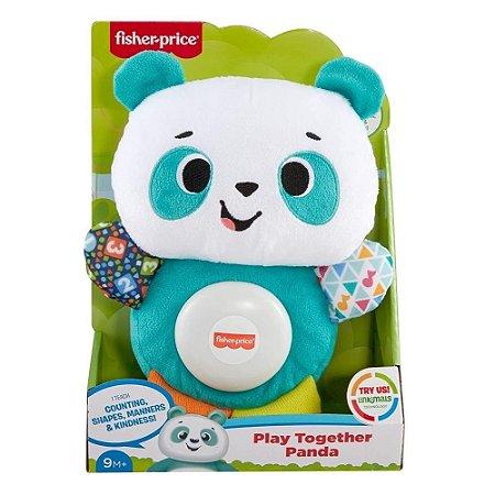 Fisher Price Linkimals Panda Brinquemos Juntos - Português