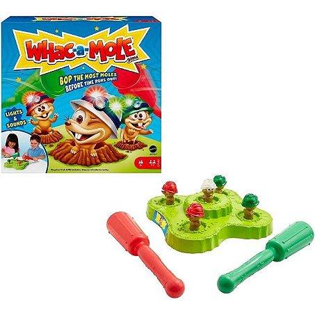 Jogo da Marmota Bate Bate Whac a Mole GVD47 Mattel