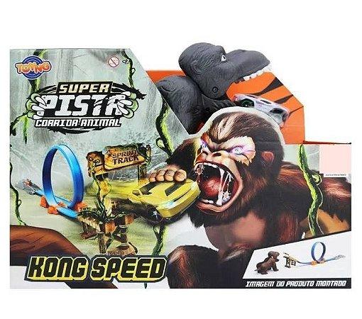 Pista Corrida Animal Gorila 1 Looping  TOYNG 43361