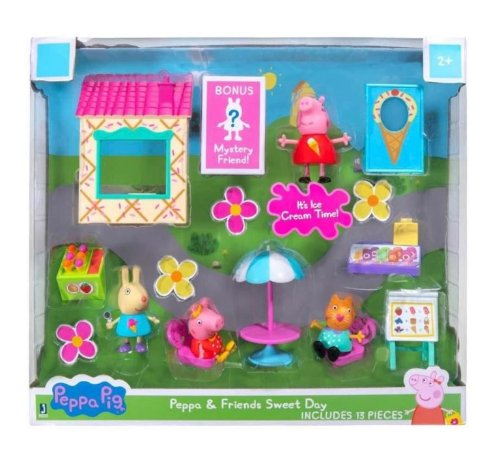 Peppa Pig Combo Hora de Brincar Sunny 2325