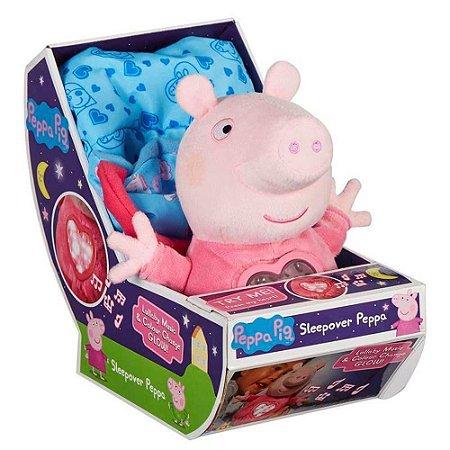 Peppa Pig Pelúcia Interativa Hora de Dormir com Som Sunny