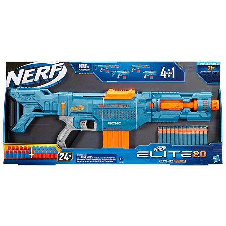 Nerf Elite 2.0 Echo CS-10 Lançador de Dardos 25 Peças Hasbro