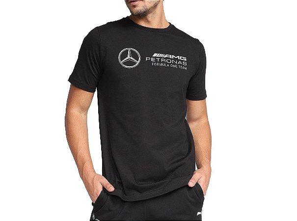Camiseta Esportiva Formula 1 Puma Logo MAPF1 Masculina