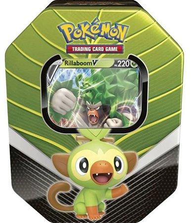 Pokémon Lata Colecionável Parceiros de Galar Sortidos