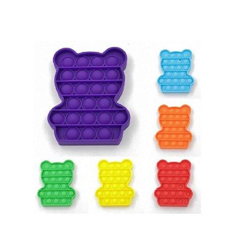 Pop Fun Ursinho Sortido Anti Estresse Pura Diversão Yes Toys