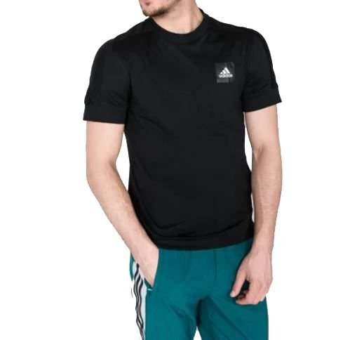Camiseta Masculina Adidas ID Fat3s Tee Preta TAM GG
