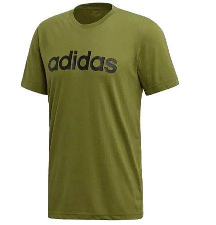 Camiseta Adidas Masculina D2M Clmlt Slg
