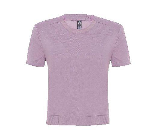 Camiseta Feminina Adidas Cross BK Mesh Lilás