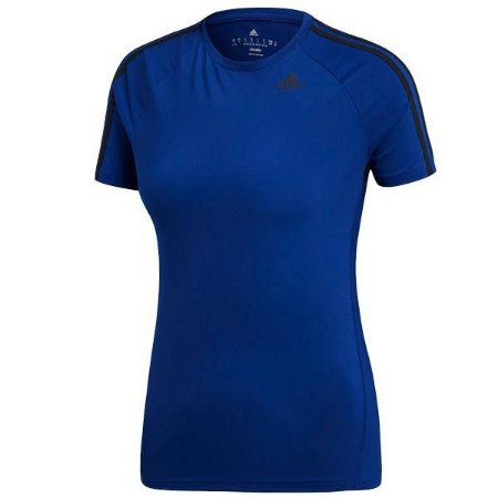 Camiseta Feminina Baby Look Adidas Climalite D2M 3S Tee