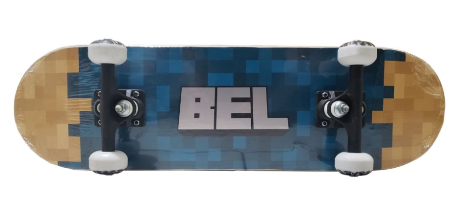 Skate Radical Iniciante até 60Kg SORTIDO Bel Sports 4019