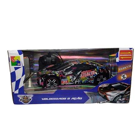 Carro Controle Remoto Brinquedo Velocidade E Ação 807C-A CKS