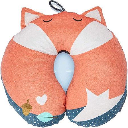 Almofada Protetora de Pescoço Marrom BB355 Multikids Baby