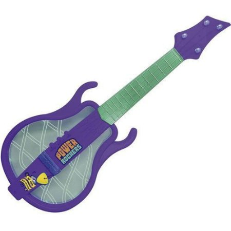 Guitarra Infantil Musical Iluminada Power Rockers Fun