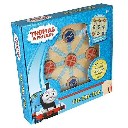 Thomas e Seus Amigos Jogo da Velha Madeira - Fun Divirta-se
